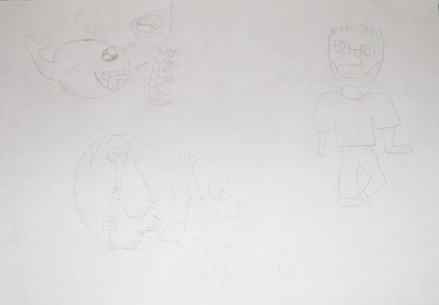 Courtney's drawings